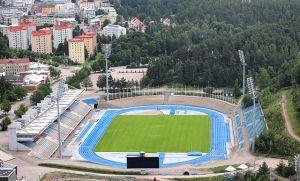 Sunnuntain pelipaikkana on Lahden stadion. Kuva: Tiia Monto / Wikimedia Commons